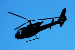Helicopter-Gazelle Royalty Free Stock Photos