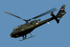 Helicopter Gazelle-4 Stock Photography