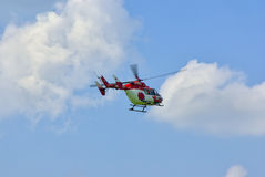 Helicopter of German Air Rescue Service Stock Images