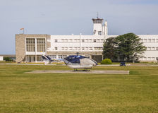 Helicopter on the Ground Royalty Free Stock Photo