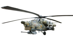 Helicopter gunship Royalty Free Stock Images