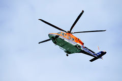 Helicopter HeliService Royalty Free Stock Image
