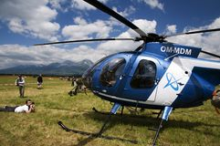Helicopter Hughes MD 530F Royalty Free Stock Photo