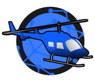Helicopter icon Stock Images