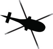 Helicopter icon Royalty Free Stock Images