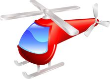 Helicopter  illustration Stock Photo