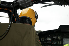 Helicopter - interior Stock Image