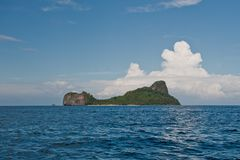 Helicopter island, El Nido, Philippines Royalty Free Stock Photo
