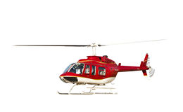 Helicopter isolated Royalty Free Stock Image