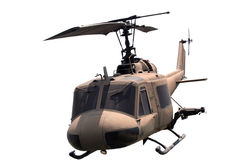 Helicopter isolated Royalty Free Stock Photos