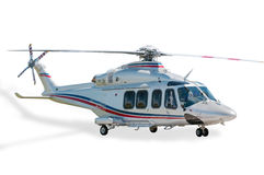 Helicopter isolated. Helicopters white  isolated white background Stock Photo