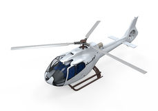 Helicopter Isolated Stock Photography