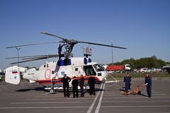 Helicopter KA-32A Stock Photography