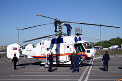 Helicopter KA-32A Royalty Free Stock Photography