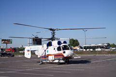 Helicopter KA-32A Stock Images