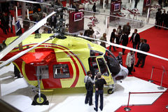 Helicopter Ka226T Royalty Free Stock Photos