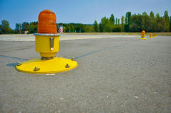 A helicopter landing pad royalty free stock photography