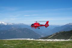 Helicopter Landing Stock Images