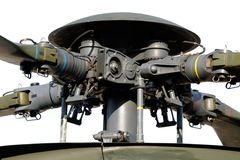 Helicopter main rotor Royalty Free Stock Image