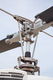 Helicopter main rotor and detail Stock Images