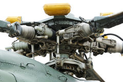 Helicopter main rotor Stock Image