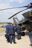Helicopter at MAKS International Aerospace Salon Royalty Free Stock Photography