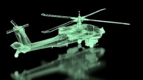 Helicopter Mesh stock video footage