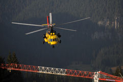 Helicopter Mi 171 Stock Photography