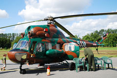 Helicopter Mi-2 Stock Photo