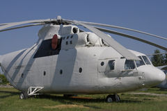 Helicopter MI-26. Old soviet helicopter MI-26 Stock Images