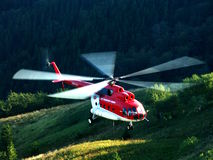 Helicopter Mi-8 Royalty Free Stock Photography