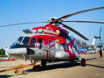Helicopter Mi 8AMT royalty free stock photos