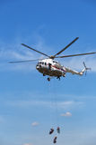 Helicopter Mi -BTMVB1 Royalty Free Stock Photos
