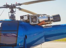 The helicopter Mi2 Royalty Free Stock Photo