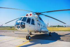 The helicopter Mi8 Stock Photos