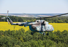 Helicopter Mi-8 (Hip) Stock Photos