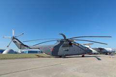 The helicopter Mi-26 Royalty Free Stock Image