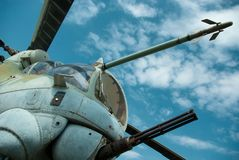 Helicopter mi24 Royalty Free Stock Images