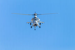Helicopter Military Attack Aircraft Flying Royalty Free Stock Photography