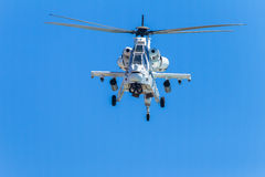 Helicopter Military Attack Aircraft Flying Stock Images