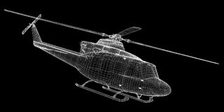 Helicopter, Military Sealift Royalty Free Stock Images