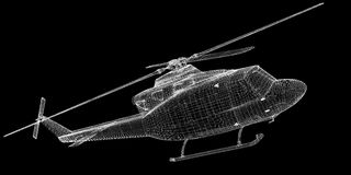Helicopter, Military Sealift Royalty Free Stock Image