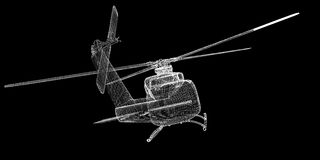 Helicopter, Military Sealift Royalty Free Stock Photos