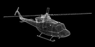 Helicopter, Military Sealift Stock Photography