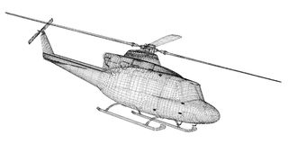 Helicopter, Military Sealift Stock Image