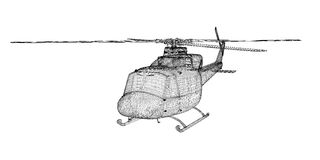 Helicopter, Military Sealift Stock Photo
