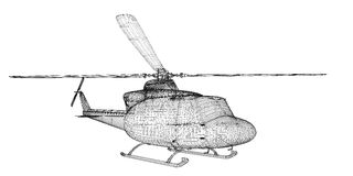 Helicopter, Military Sealift Royalty Free Stock Photo