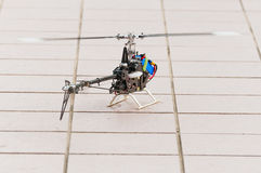 Helicopter model Stock Photo