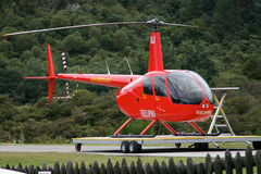 Helicopter,New Zealand Stock Photography