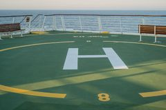 Helicopter Pad Stock Images